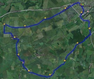Tri Cycle Route