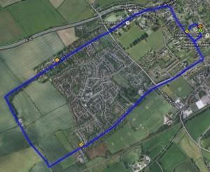 Tri Run Route